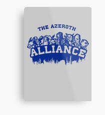 Team Alliance Metal Print