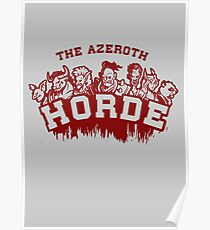 Team Horde  Poster