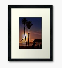 Another Sunset on the Ocean Framed Print