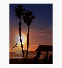 Another Sunset on the Ocean Photographic Print