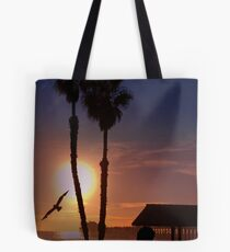 Another Sunset on the Ocean Tote Bag