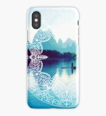 Lake in China iPhone Case/Skin