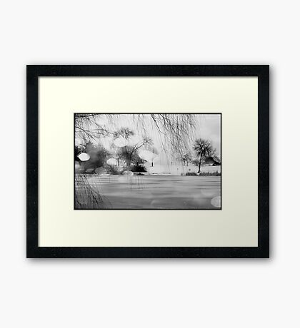 Lake Michigan © Framed Print