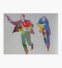 Technicolour Butch and Sundance Photographic Print
