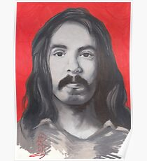 portrait of richard chase. Poster