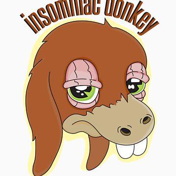 Insomniac donkey by Ignasi
