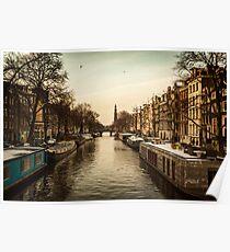 Amsterdam life Poster