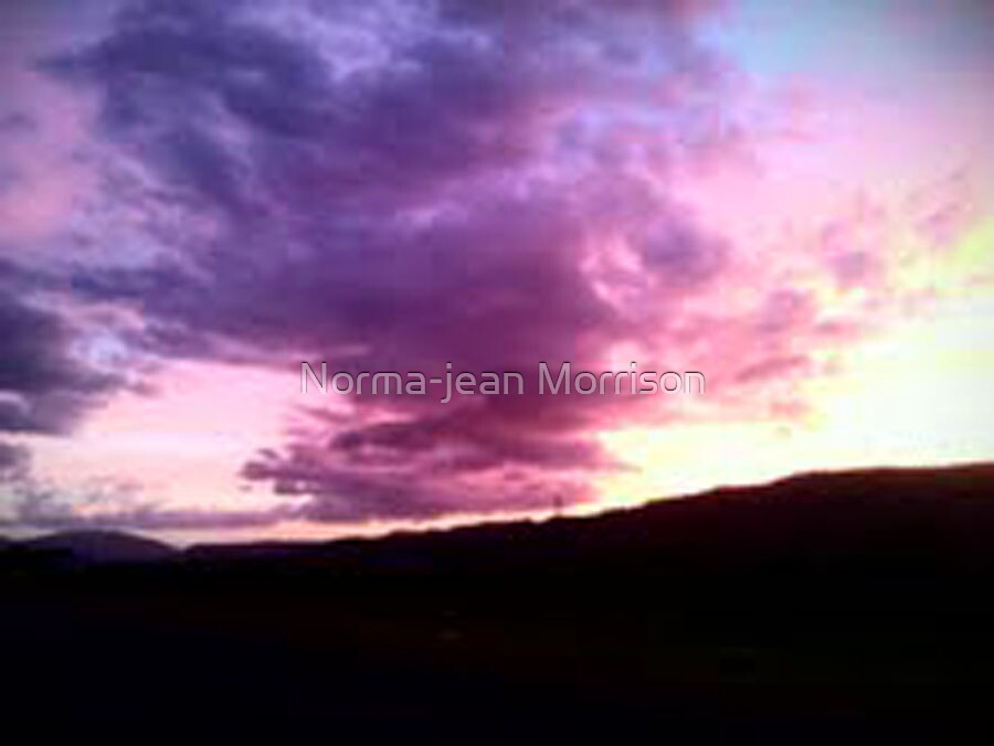 the last sunset  by Norma-jean Morrison