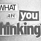 Thinking by Nick J  Shingleton