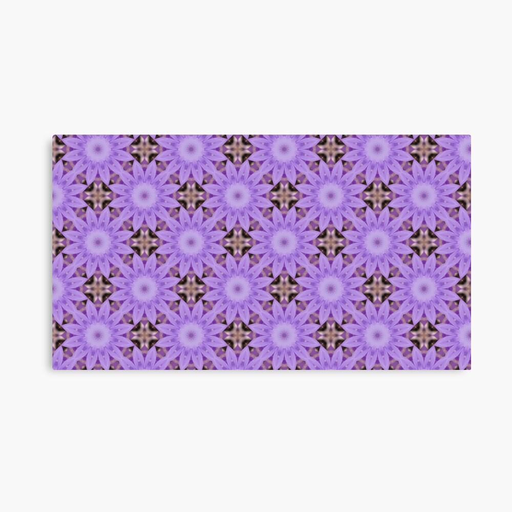 Purple Flowers Leinwanddruck