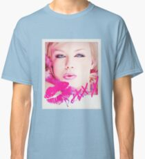 Poloroid Pink Kiss Classic T-Shirt