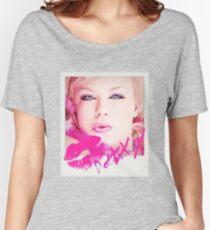 Poloroid Pink Kiss Baggyfit T-Shirt