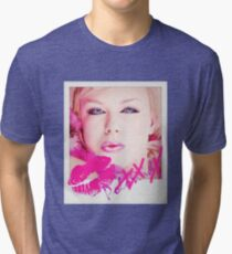 Poloroid Pink Kiss Vintage T-Shirt