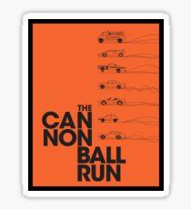 The Cannonball Run Sticker
