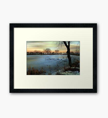 Winter's Eve © Framed Print