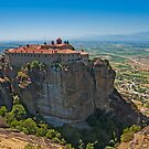 Holy Monastery of St. Stephen, Meteora by Konstantinos Arvanitopoulos