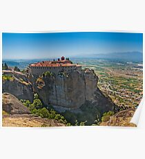 Holy Monastery of St. Stephen, Meteora Poster