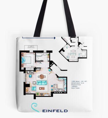 Seinfeld Apartment Tote Bag