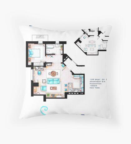 Seinfeld Apartment Throw Pillow