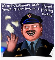 Dennis Frantz at Christmas Poster