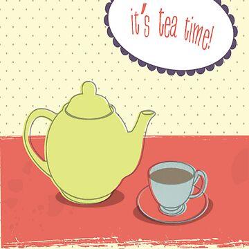 Tea time by scream2