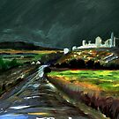 Rock of Cashel fromthe Pilgrim's WAy  by Tipptoggy