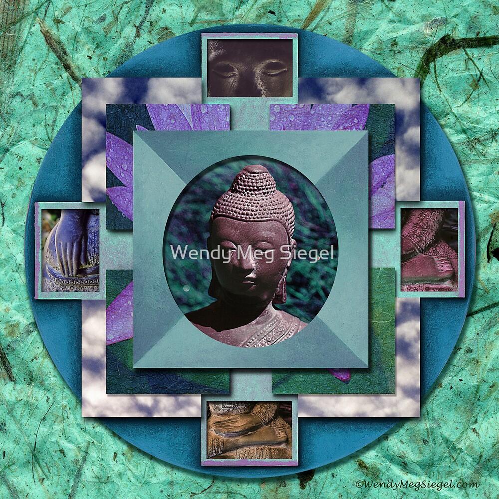 Buddha Mandala by Wendy Meg Siegel