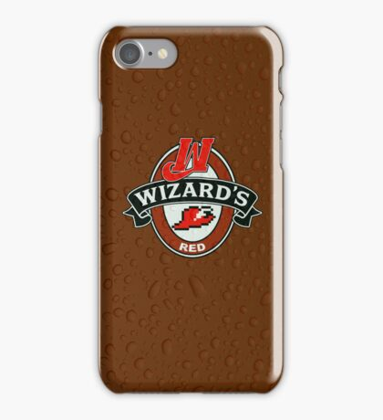 Wizard's Red iPhone Case/Skin