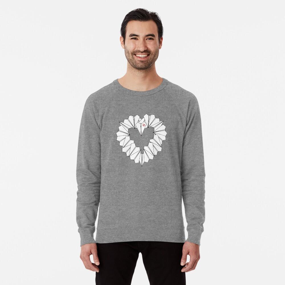 Paperman Heart Lightweight Sweatshirt