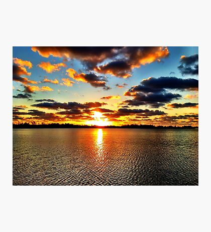 A Sunrise Worth Getting Up For  Photographic Print