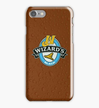 Wizard's Black iPhone Case/Skin