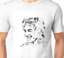 Aaron Swartz Black and White Unisex T-Shirt