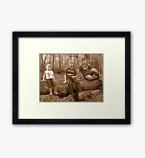 young adventurers!~ Framed Print