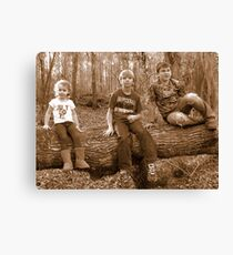 young adventurers!~ Canvas Print