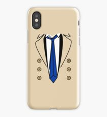 Angel in trench coat iPhone Case/Skin