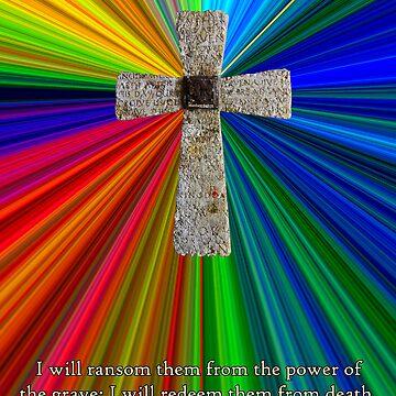 cross, colors & hosea verse by dedmanshootn