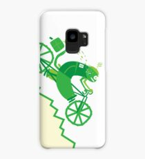 Crazy Chameleon Courier Case/Skin for Samsung Galaxy