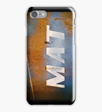 MAT iPhone Case/Skin