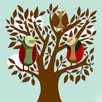 Owl Family by Ignasi