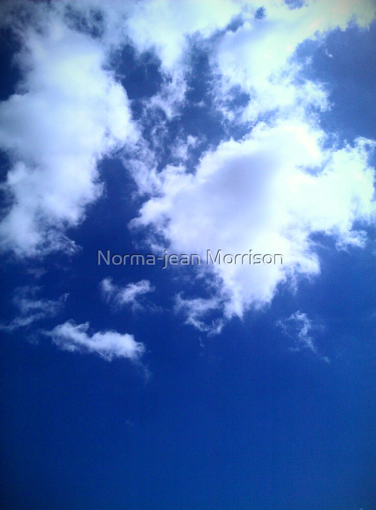 the big blue  by Norma-jean Morrison