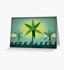 Alternative Energy Greeting Card