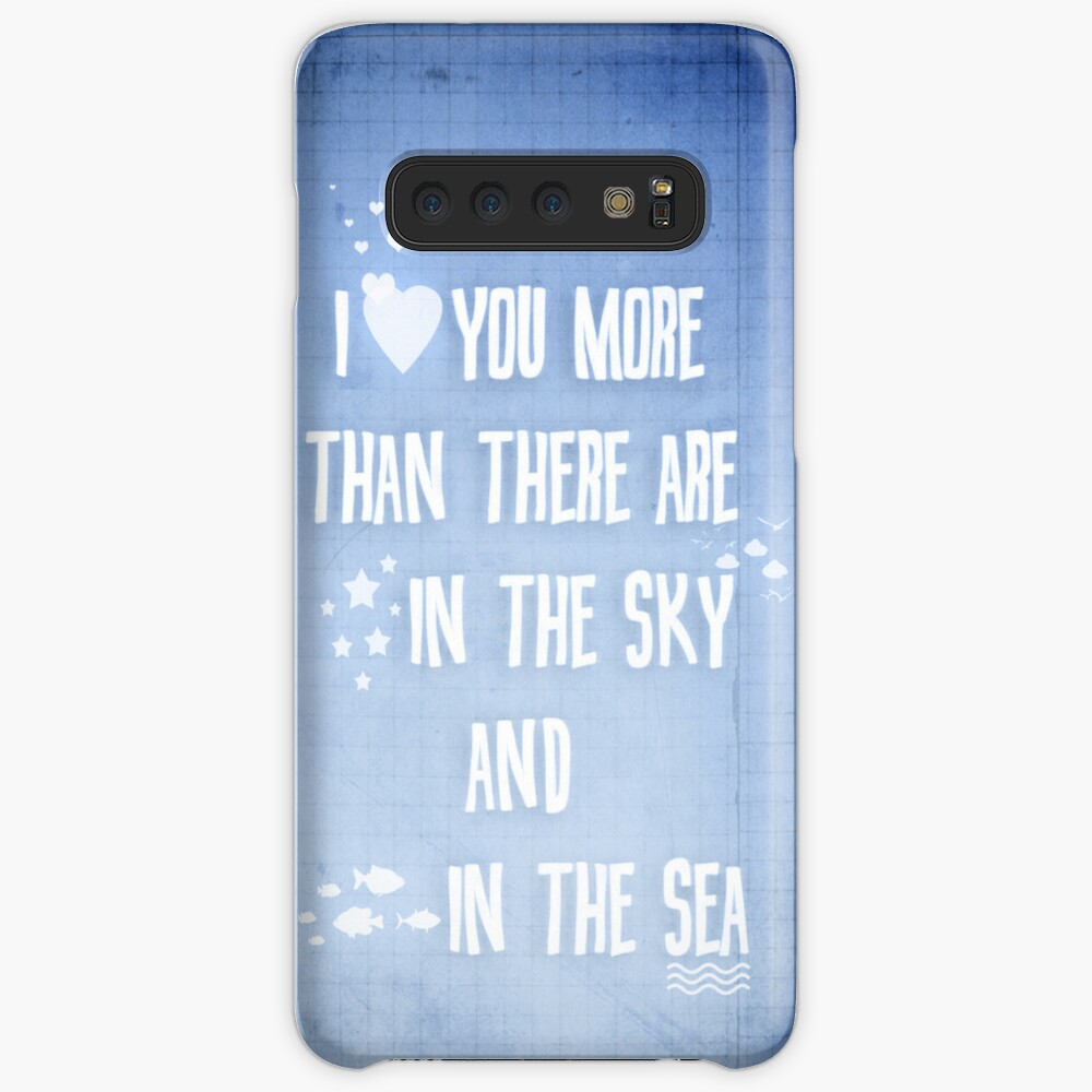 I ♥ you more Case & Skin for Samsung Galaxy
