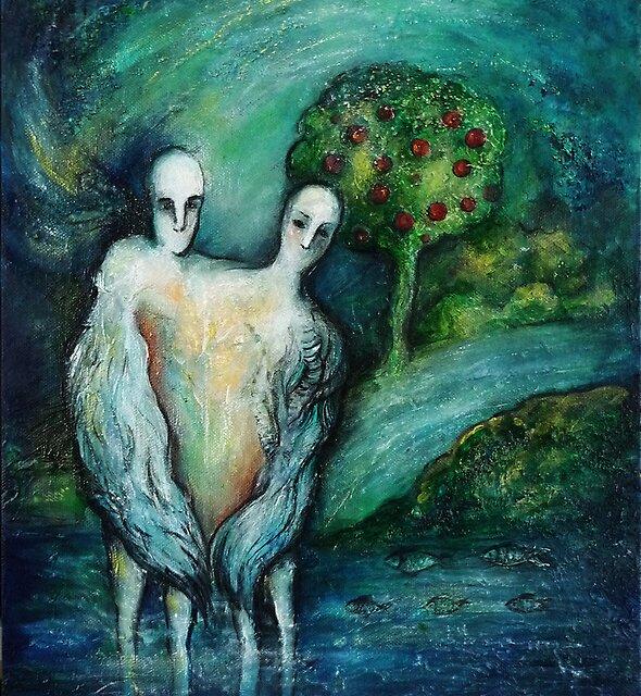 """Soul mates"" by Tatjana Larina"