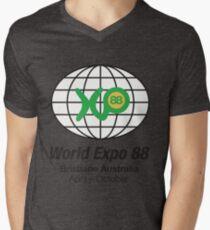 Expo 88 Men's V-Neck T-Shirt