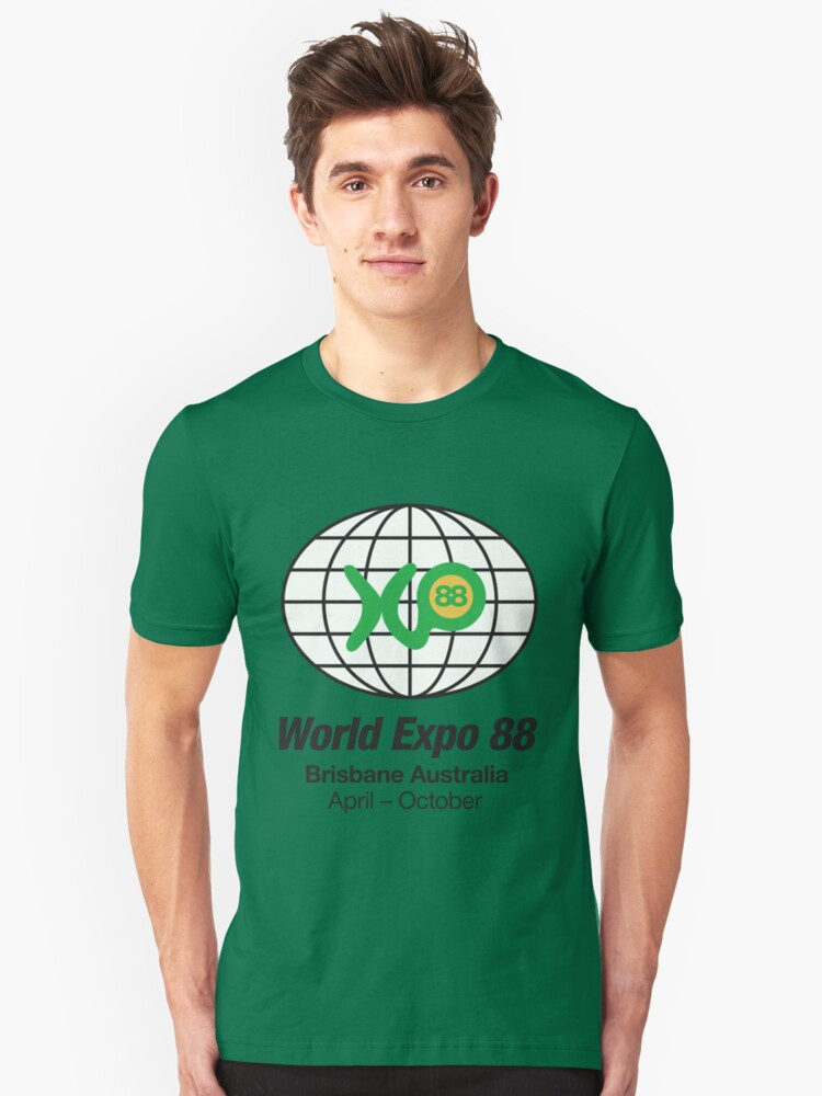 Expo 88 Unisex T-Shirt Front