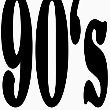 90's by Swenschi