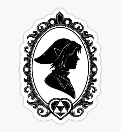 Heroes of Hyrule - The Warrior (light tee version) Sticker