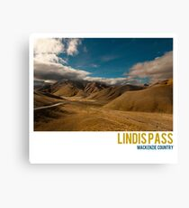 Lindis Pass Canvas Print