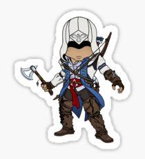 Native American Assassin Sticker