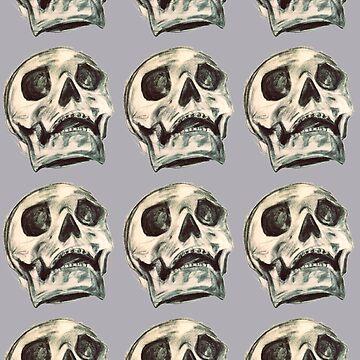 Skulls by laurendraghetti